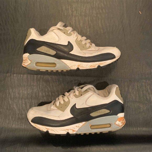 Nike Shoes Air Max 90 White Black Grey Poshmark